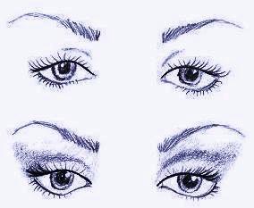 Глаза с опущенными уголками