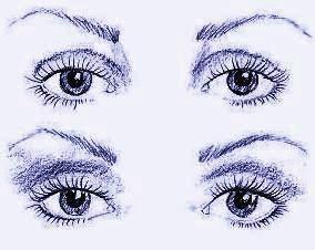 Запавшие глаза