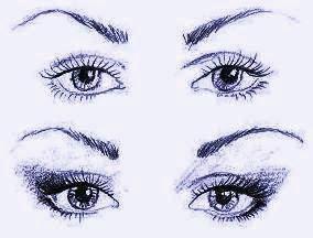 Близко расположенные глаза