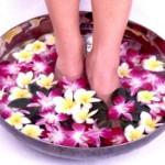 Ванночки от потливости ног