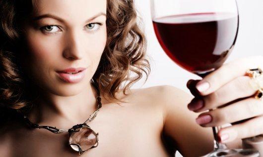 Вино для волос