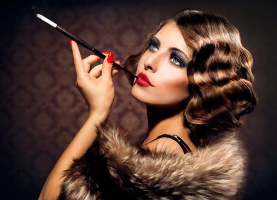 Яркий и роскошный ретро-макияж