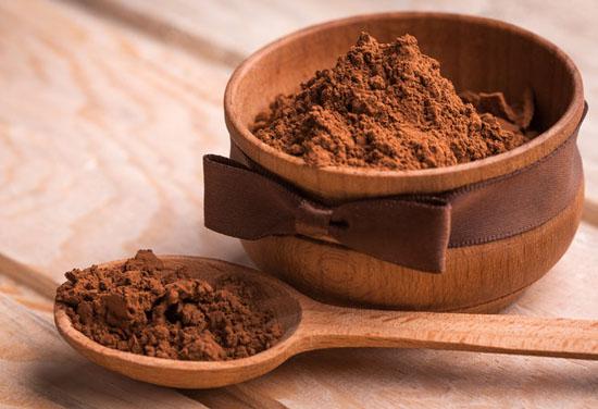 Маска для обхема волос с какао