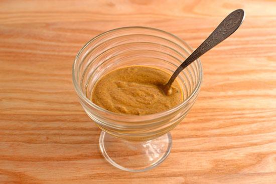 смесь горчицы и меда для обертываний