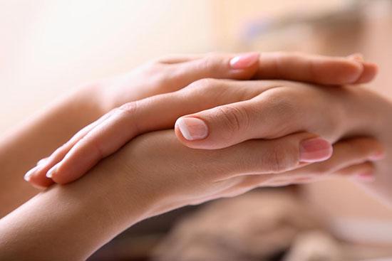 массаж для укрепления ногтей