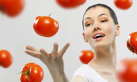 маски из помидор и соли