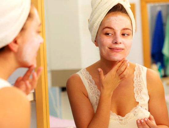 маски для сухой молодой кожи