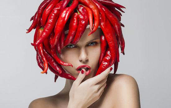 ромашковая маска с перцем чили