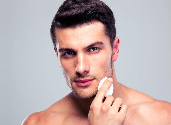 очищение лица мужчин